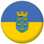 Lower Austria Flag 25mm Flat Back